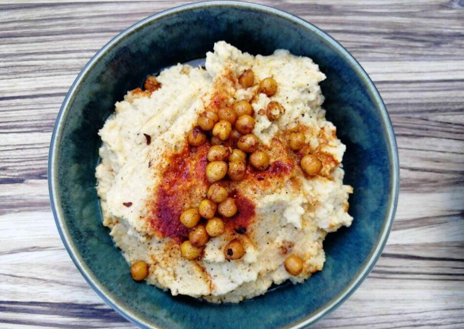 Hummus i skål
