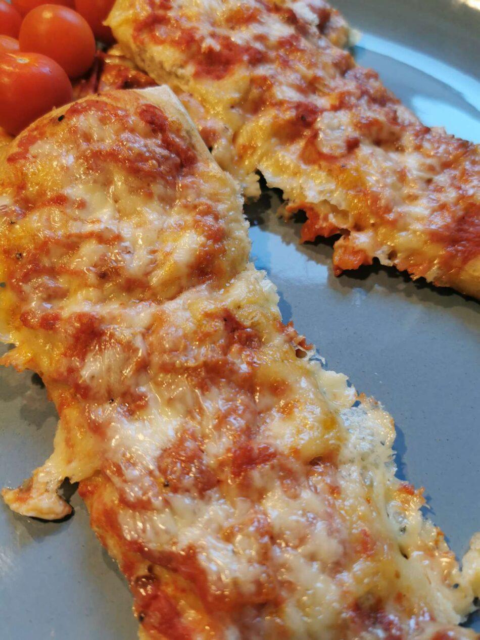 Hurtige pizza brød