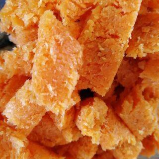 Gulerodssaft (på en slow juicer)